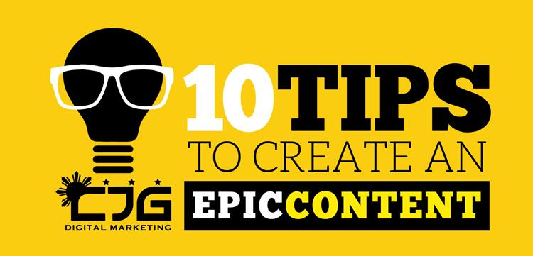 creating epic content