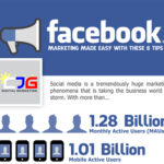 Facebook Marketing Made Easy – Top 8 Tips (Infographic)