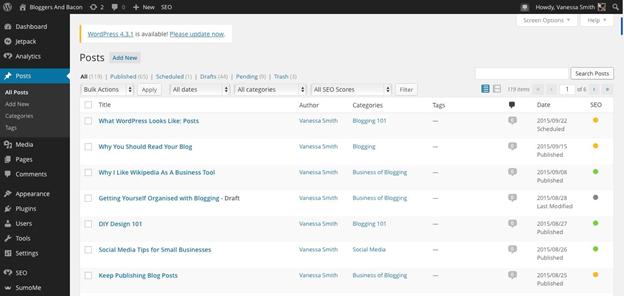 BloggersandBacon.com posts