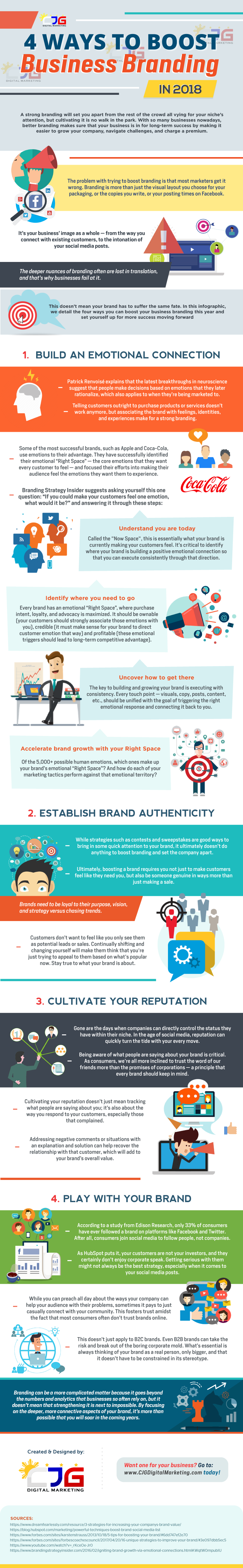 4 Ways to Boost Business Branding in 2018
